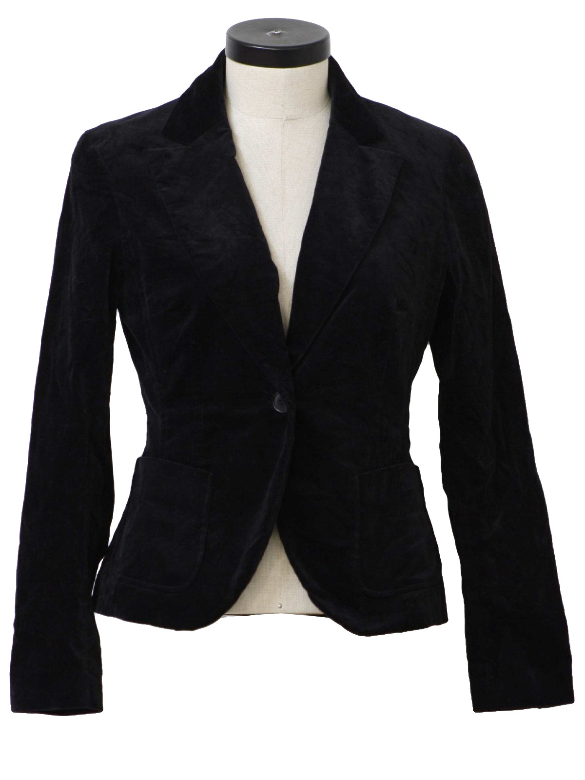 1990's New York Womens Velvet Blazer Jacket $29.00 Not in stock. Item No. 187959