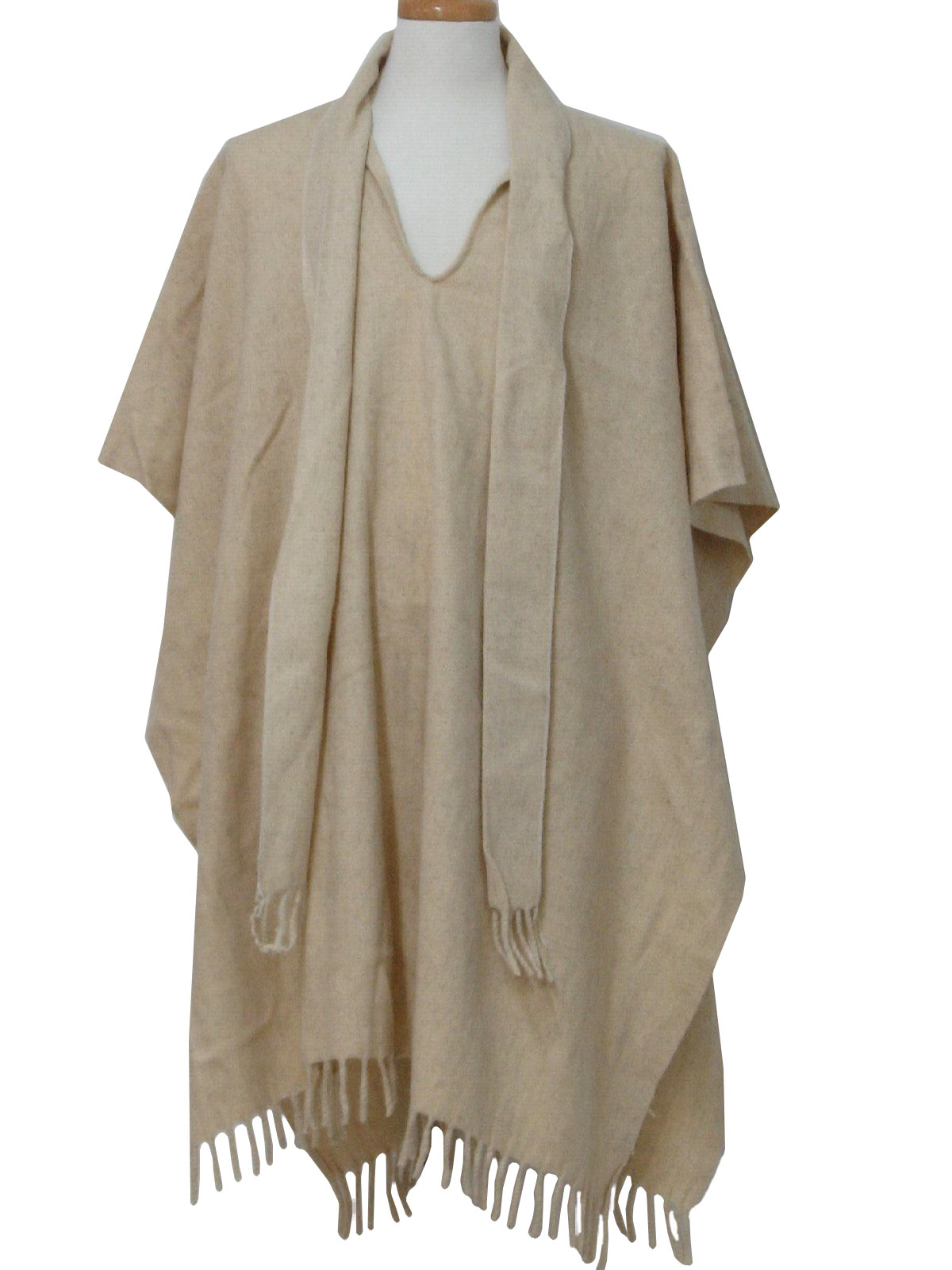 The gallery for --> Mens Wool Poncho Uberhaxornova Face