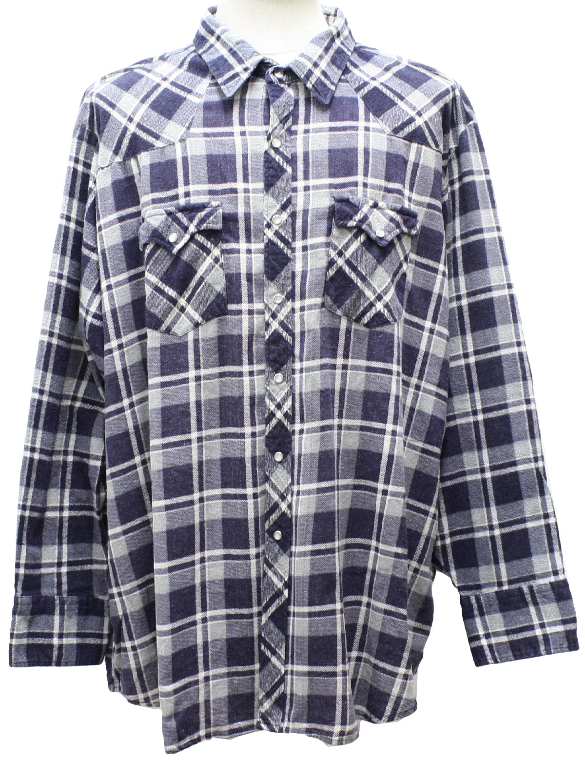 Youngbloods 1980s vintage western shirt 80s youngbloods for Cotton polyester flannel shirts