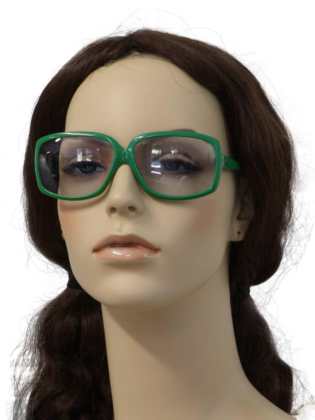 Kelly Green Eyeglass Frames : Oculens SunSensor 1970s Vintage Glasses: 1977 -Oculens ...