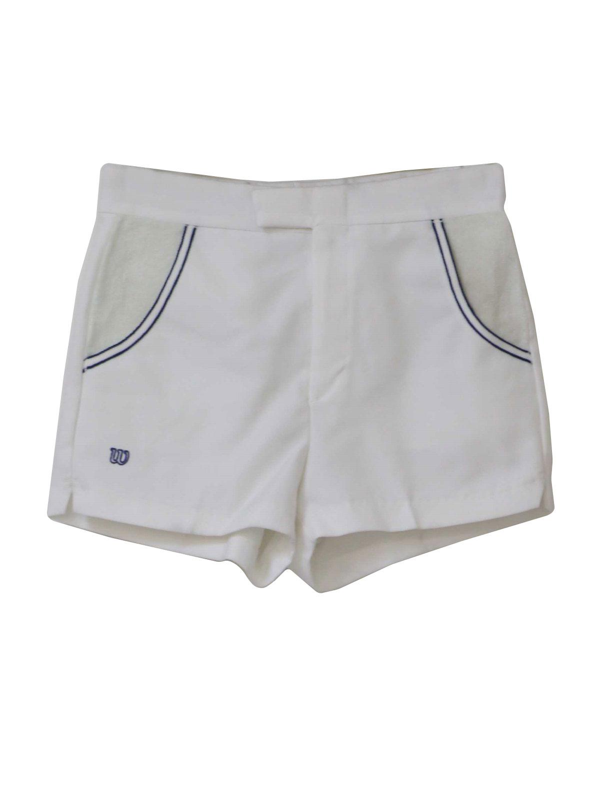 80s Vintage Wilson Tennis Apparel Shorts: 80s -Wilson