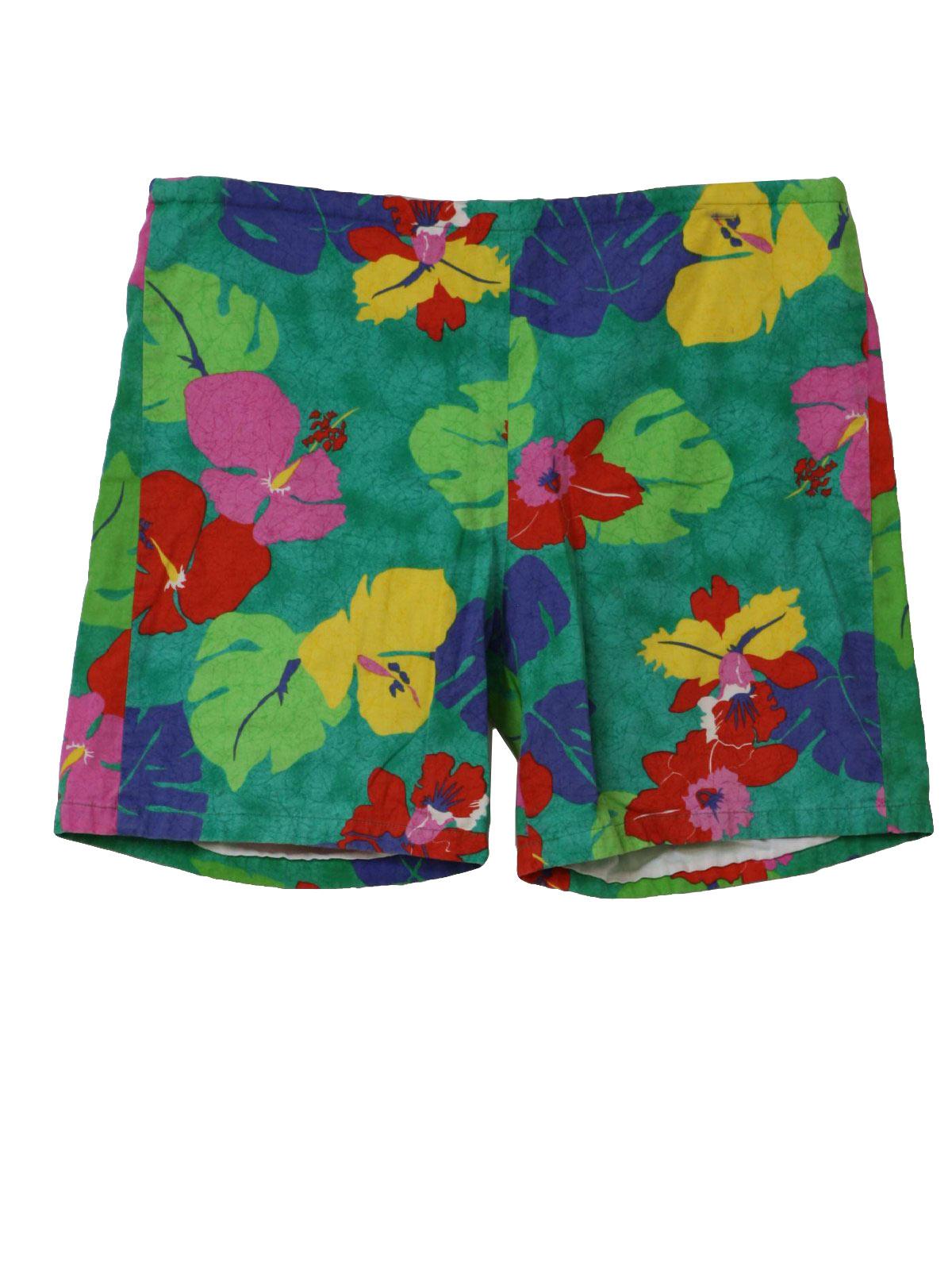 Hawaiian Print Blouses