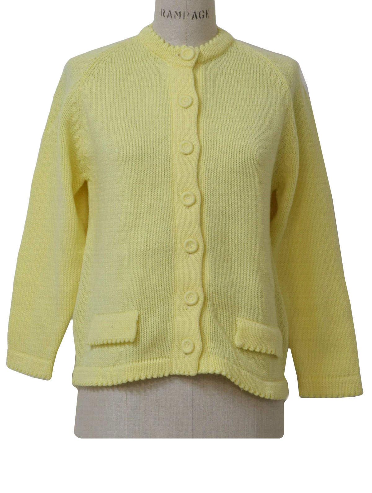 Retro Sixties Caridgan Sweater: 60s style (likely made in 70s ...