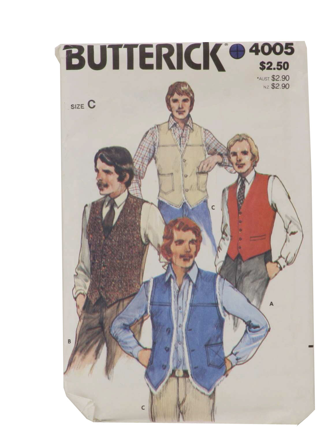 Eighties Vintage Sewing Pattern: 80s -Butterick Pattern No. 4005 ...