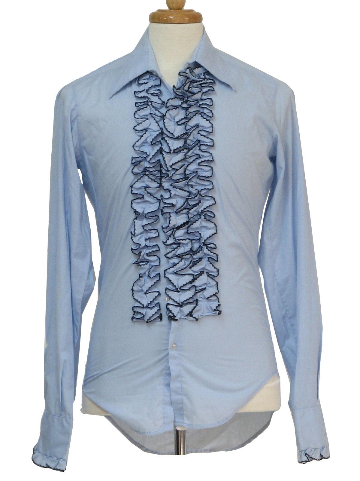 70s Shirt (After Six): 70s -After Six- Mens light sky blue ... | 1199 x 1600 jpeg 190kB