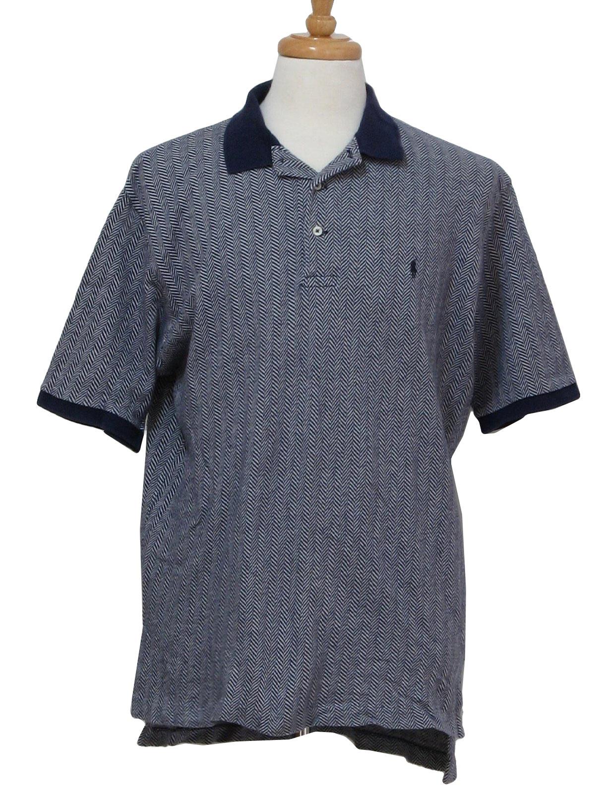 Lauren Made Totally Polo Ralph In Hong 1990's 80s Shirt Kong Mens e2EH9WDbIY