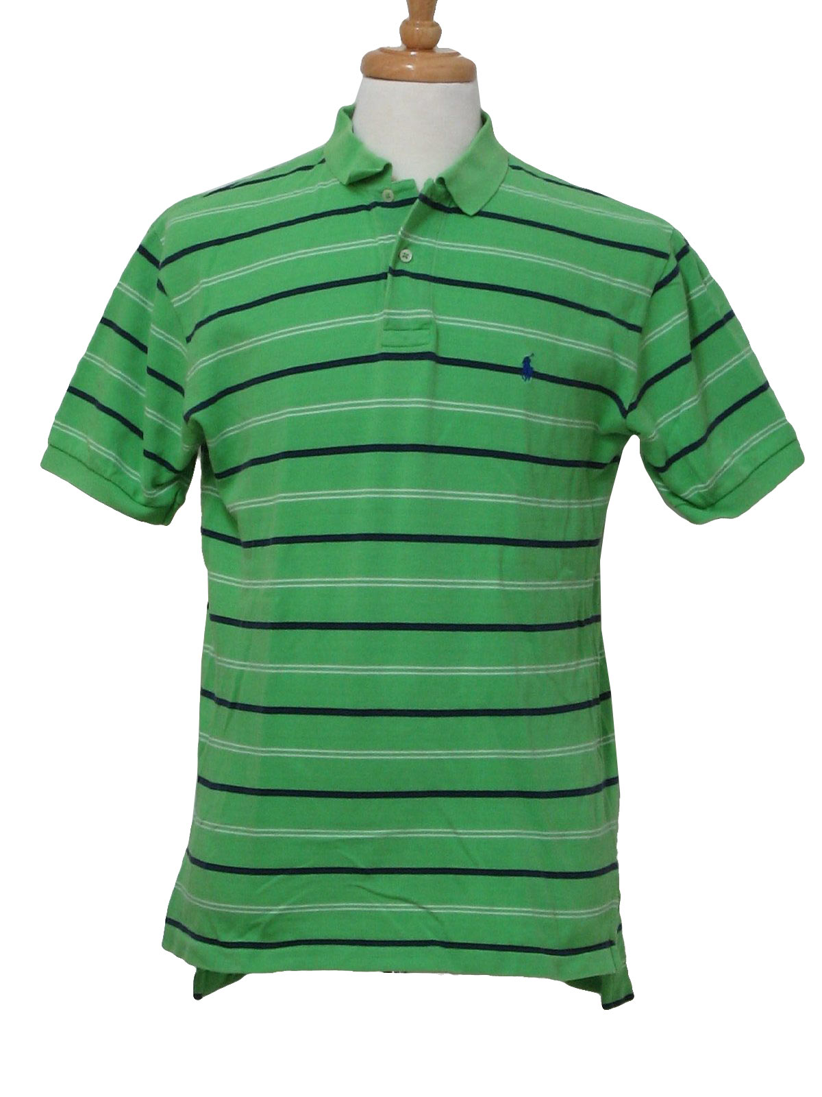 d07edb05 Shirt: (made more recently) -Polo made in Bolivia- Mens green, blue ...