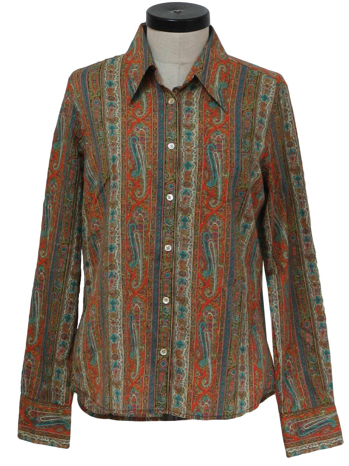 4b69d25f 1970s Lucky Brand Clothier Shirt: 70s style (made in 90s) -Lucky ...