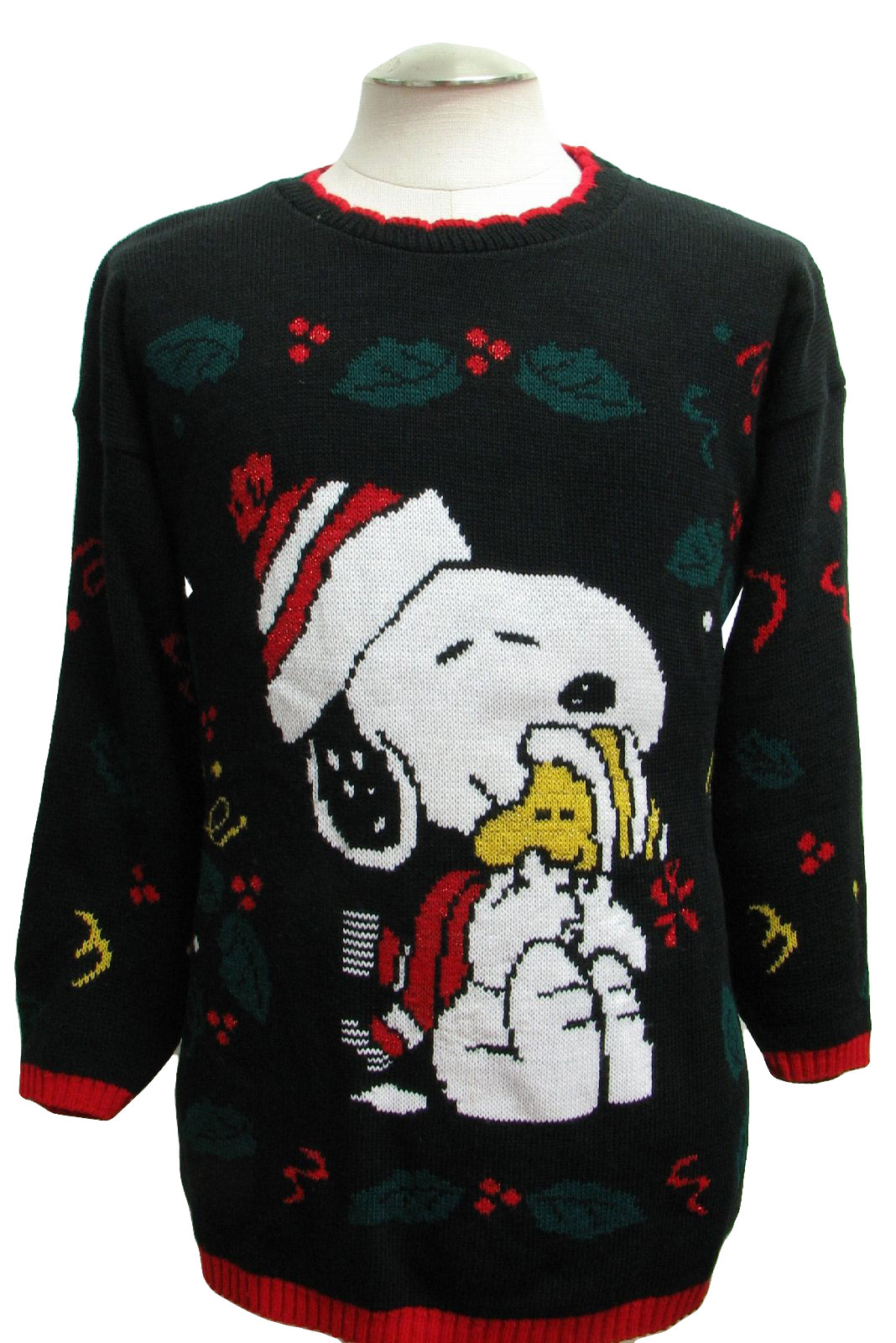 1980 S Retro Ugly Christmas Sweater 80s Authentic Vintage