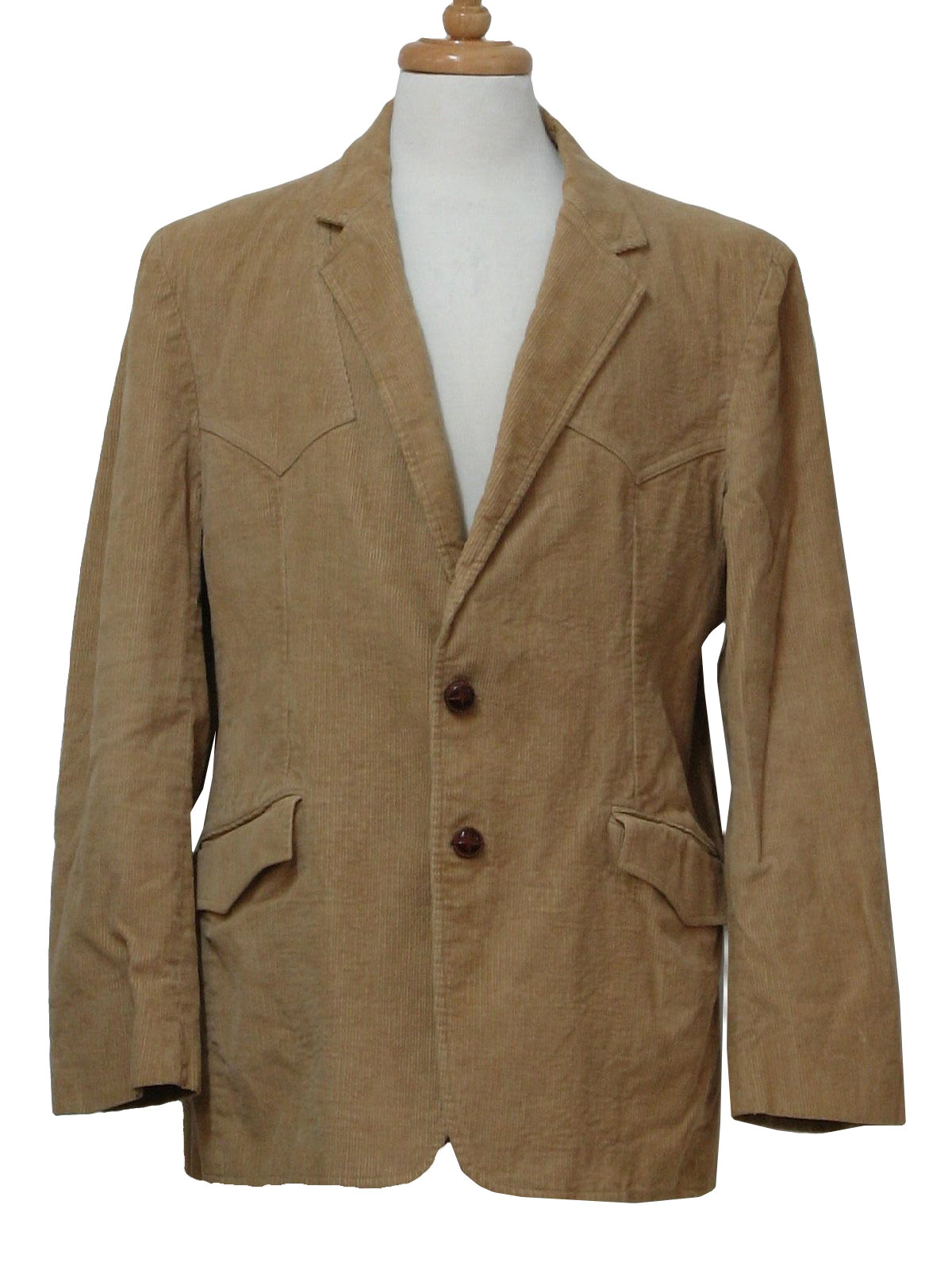 70s Vintage Jacket 70s Style made In 80s Western