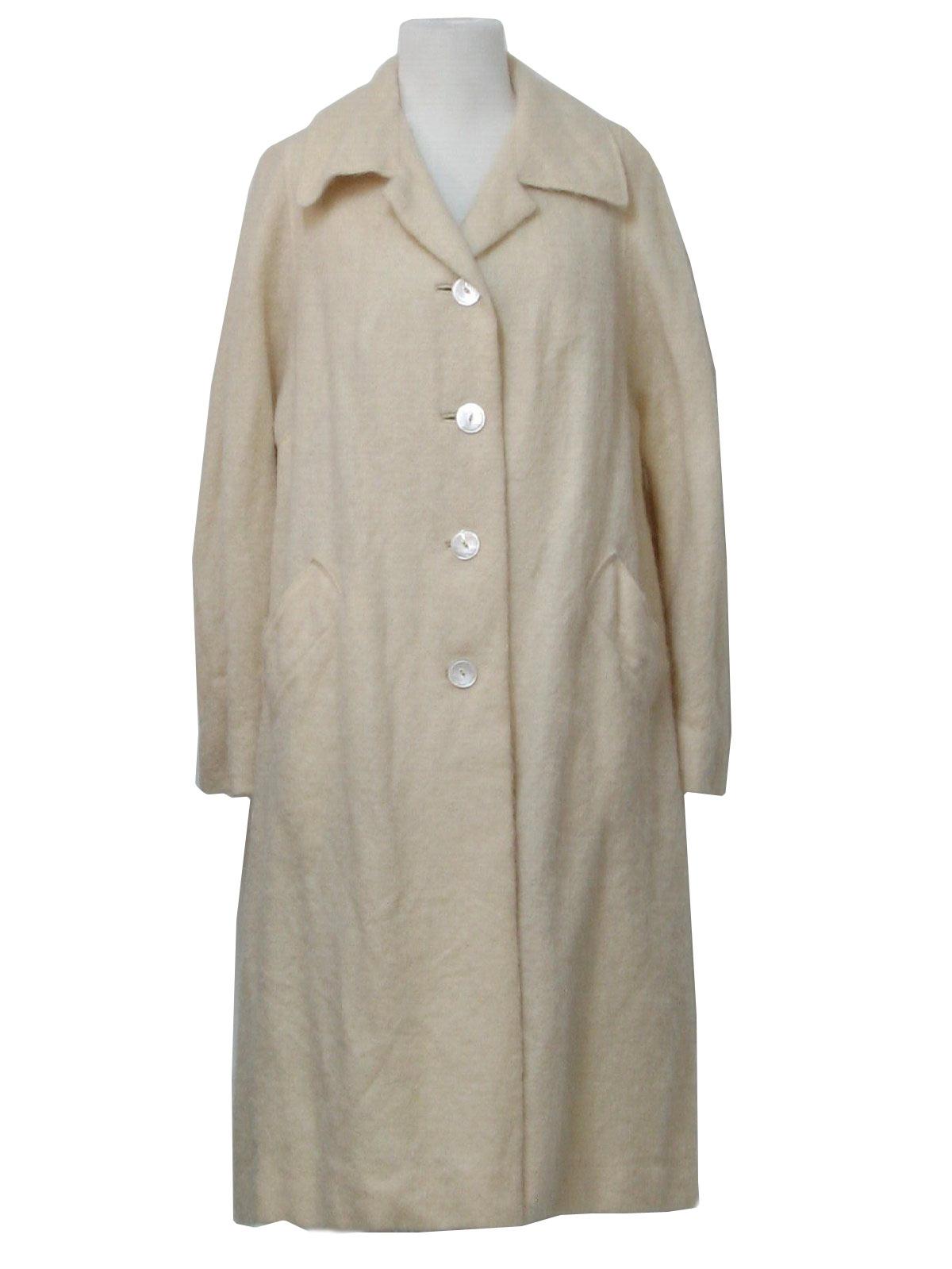1960 S Jacket John Hogan 60s John Hogan Womens Cream