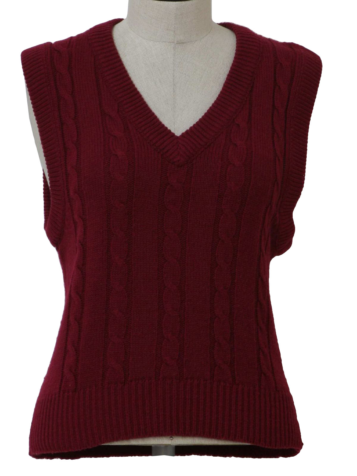 Knitting Pattern Cardigan Vest : knitted vest pattern for women