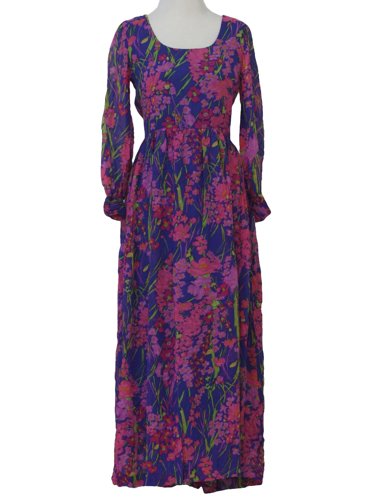Vintage 60s Hippie Dress: Late 60s or early 70s -Saks Fifth Avenue ...
