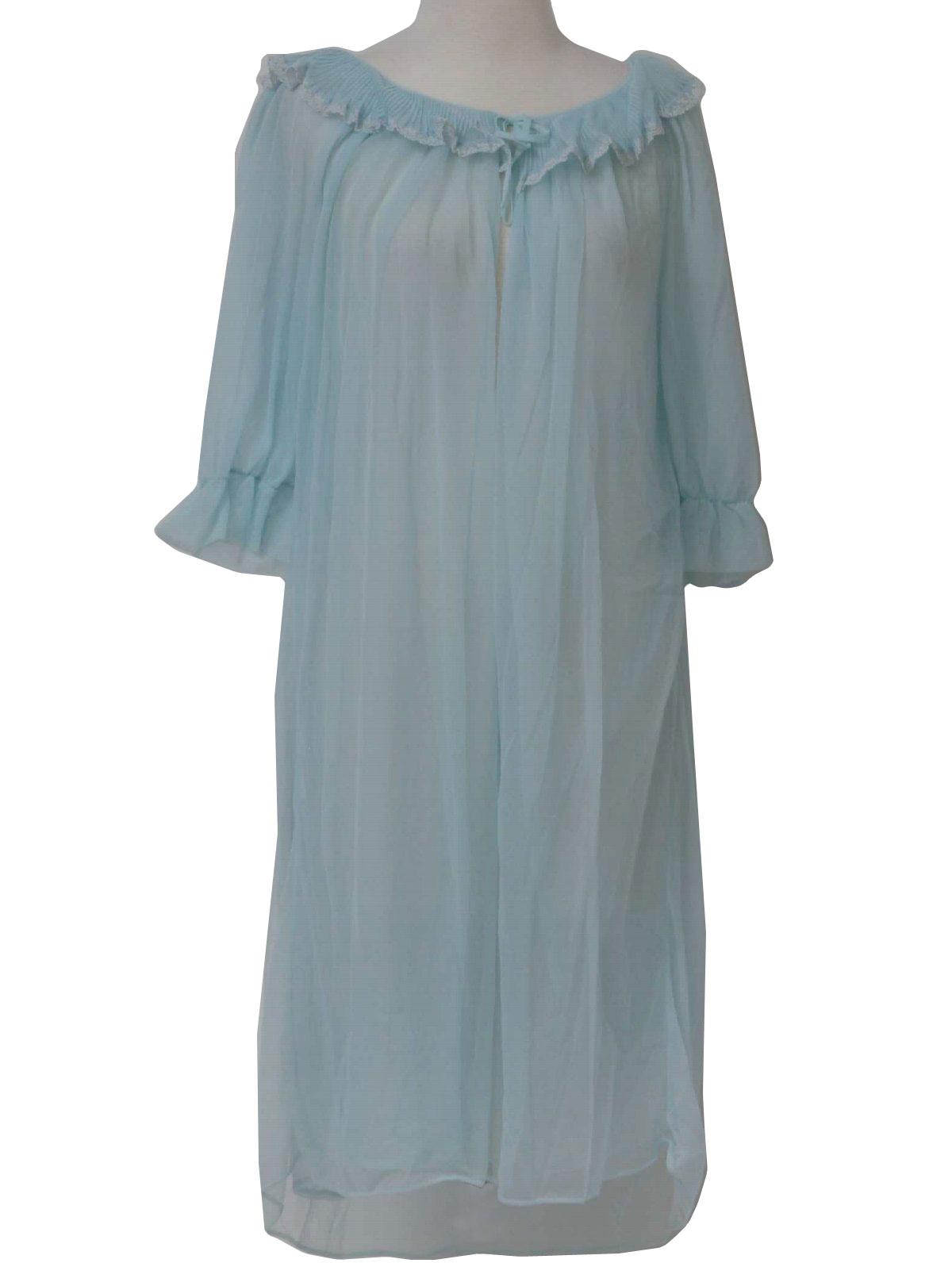 b63d517be2 Vintage 1960 s Womens Lingerie Nightgown  60s -Deena- Womens light ...