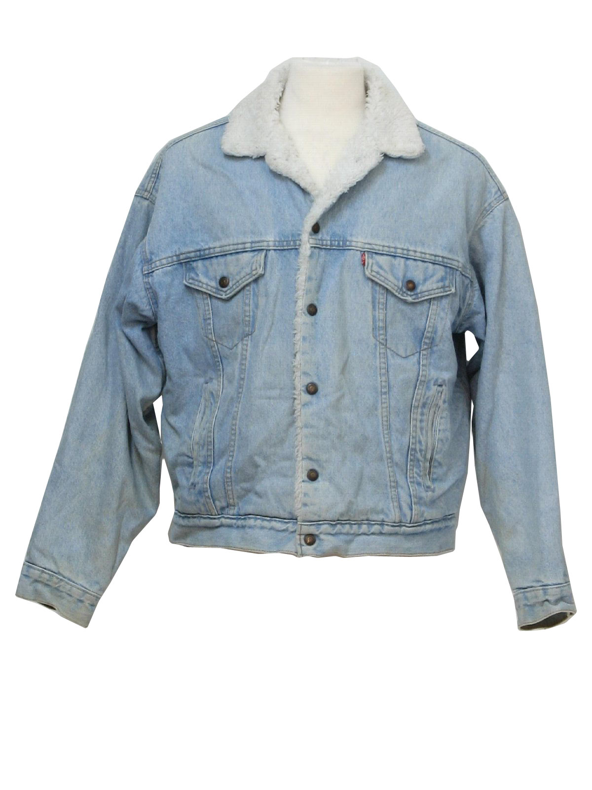 Vintage Levis Eighties Jacket Early 80s Levis Mens Well