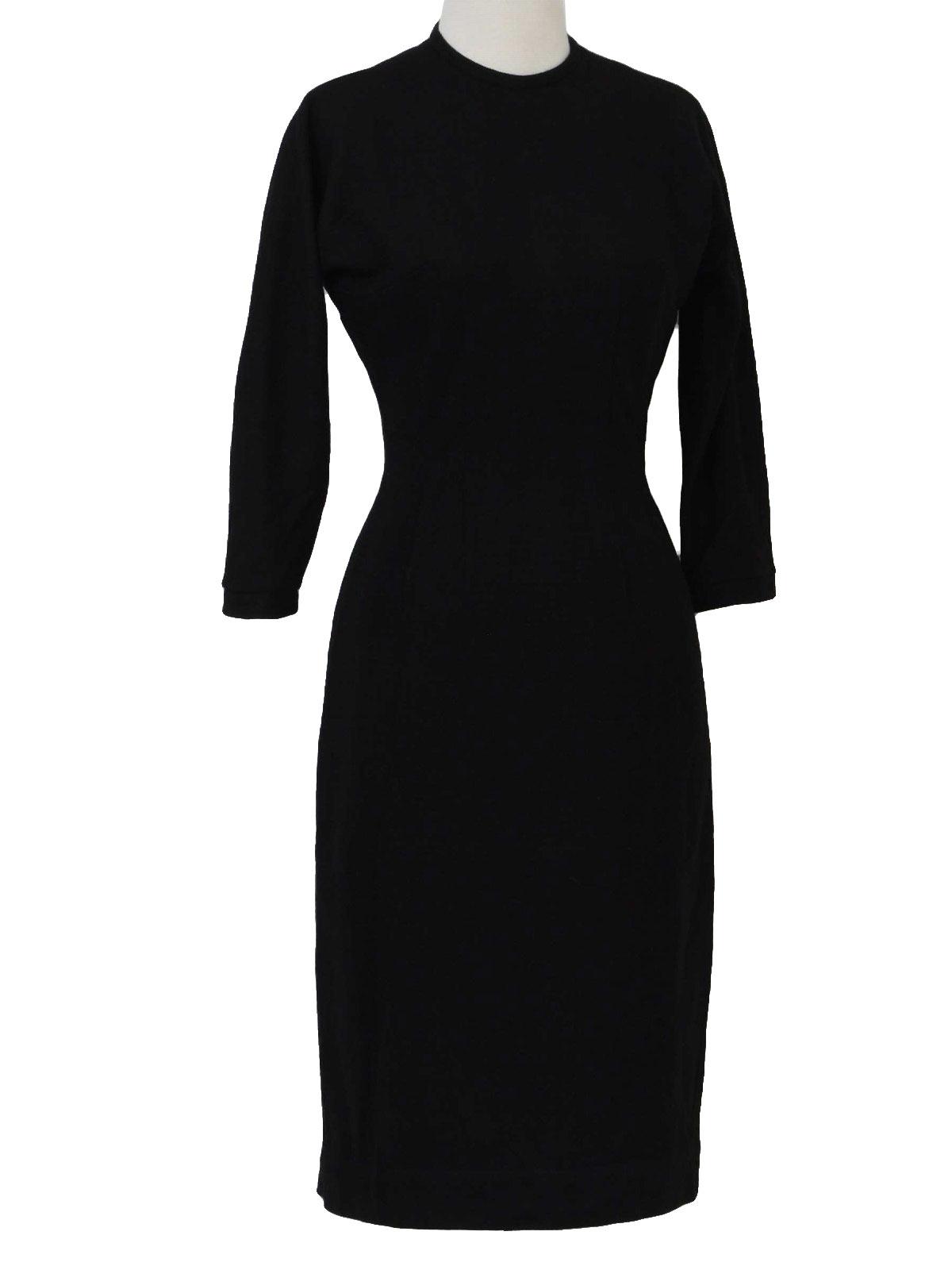 Vintage Merley Fifties Cocktail Dress: 50s -Merley- Womens little ...