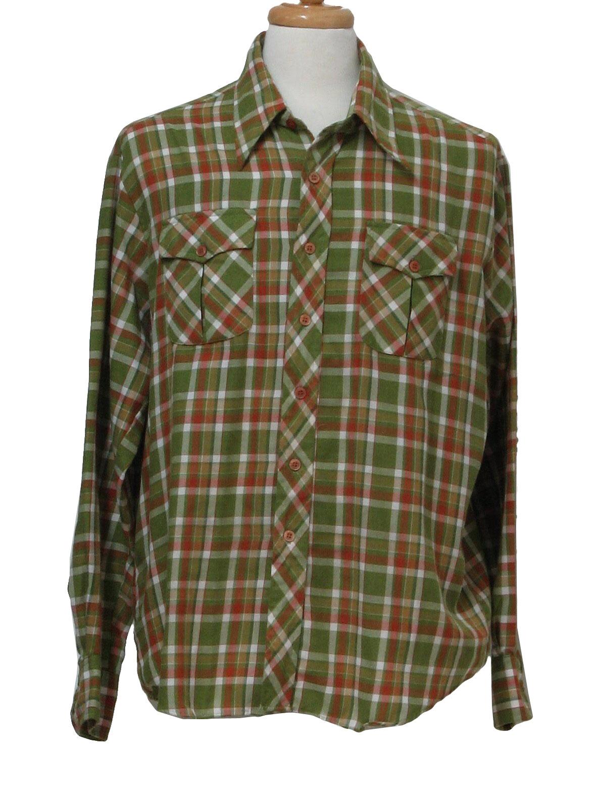 Chemise Et Cie Seventies Vintage Shirt 70s Chemise Et
