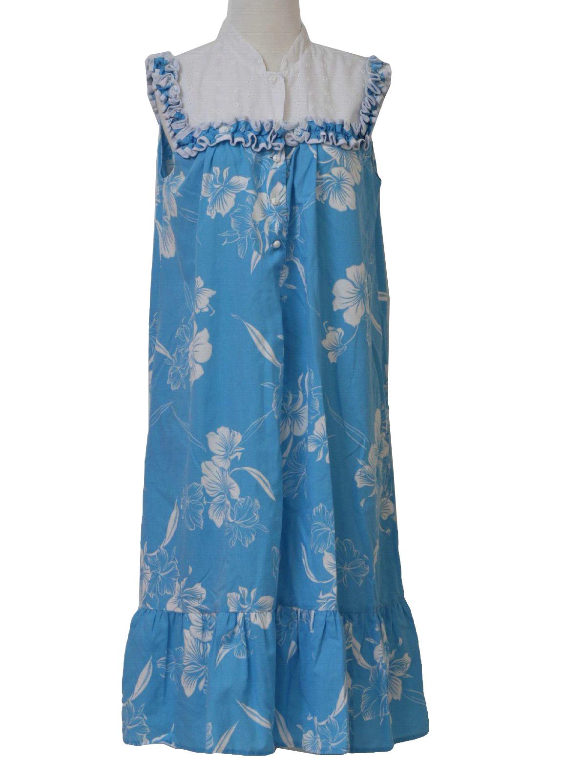1980 S Vintage Kole Kole Hawaiian Dress 80s Kole Kole