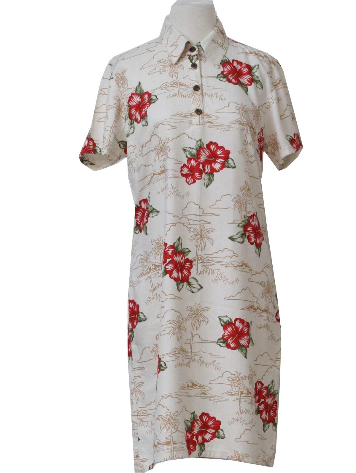 Hawaiian Style Mid Length Wedding Dresses - Flower Girl Dresses
