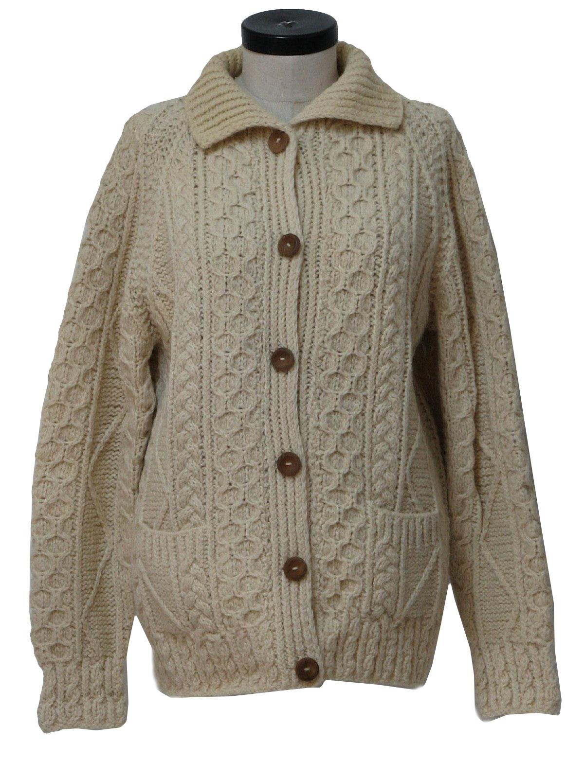 Retro 1970's Caridgan Sweater (Loch Garman) : 70s authentic ...