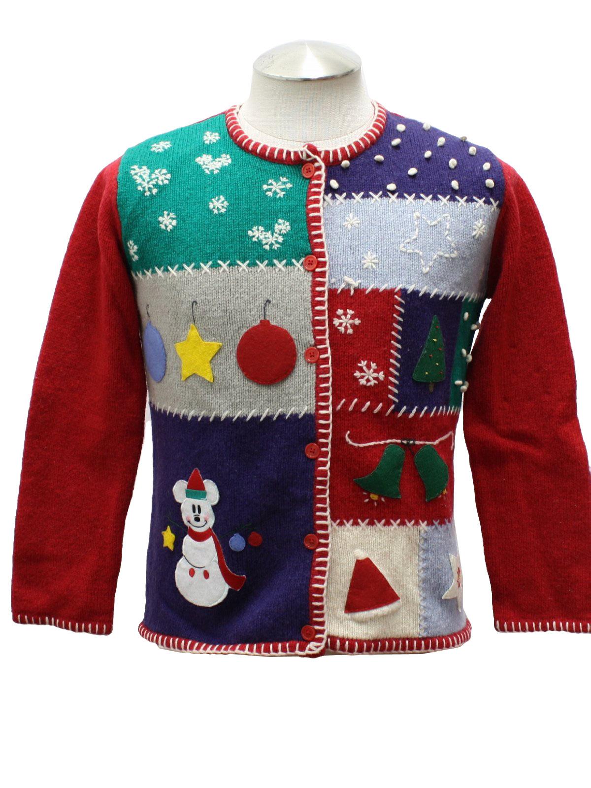 mickey christmas sweater baby