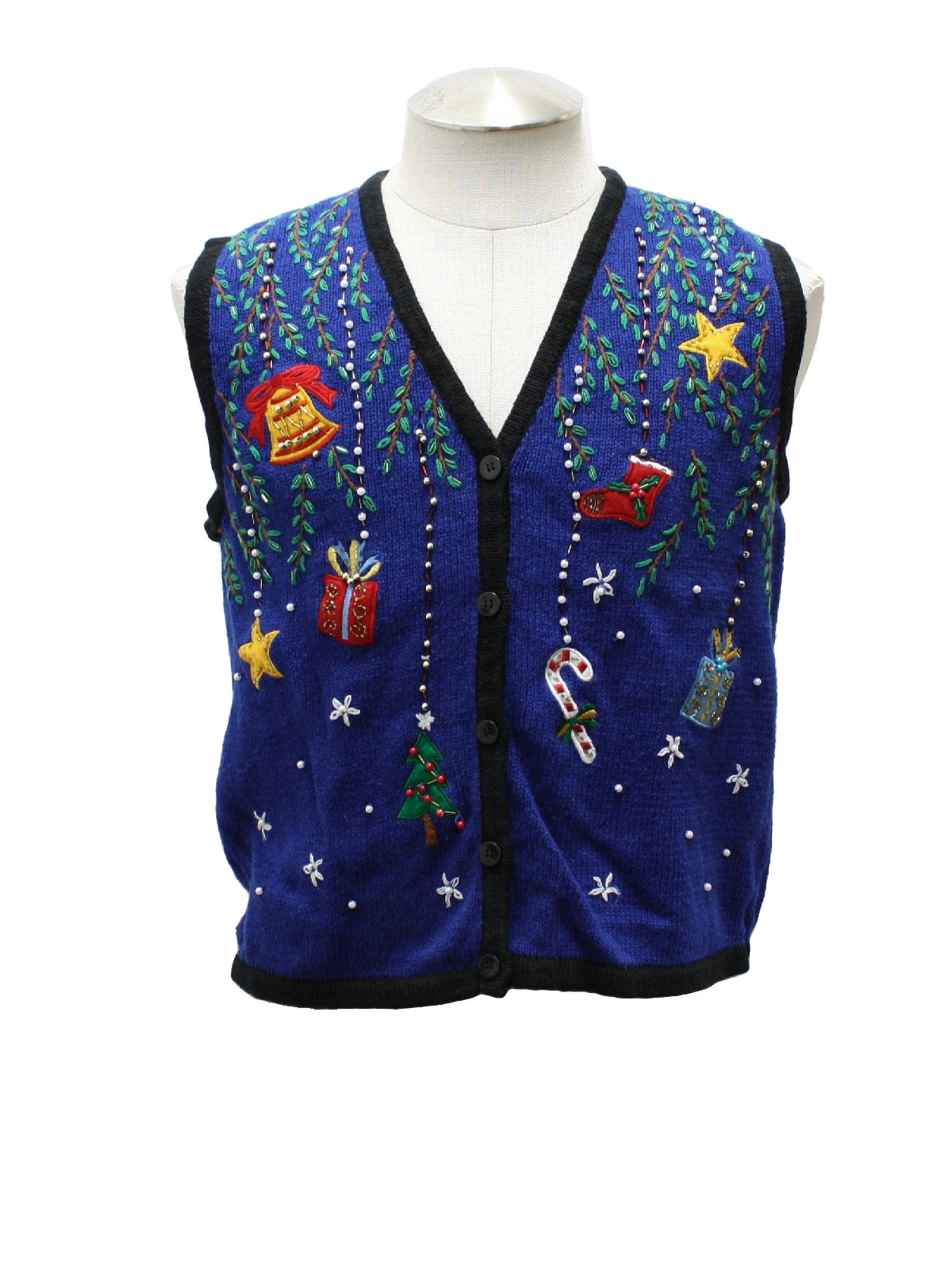 Blue Womens Sweater Vest 81