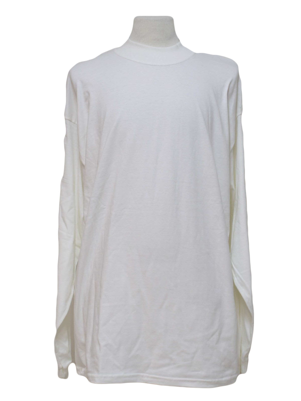 Accessories - White Mock Turtleneck Shirt to wear with your Ugly ...
