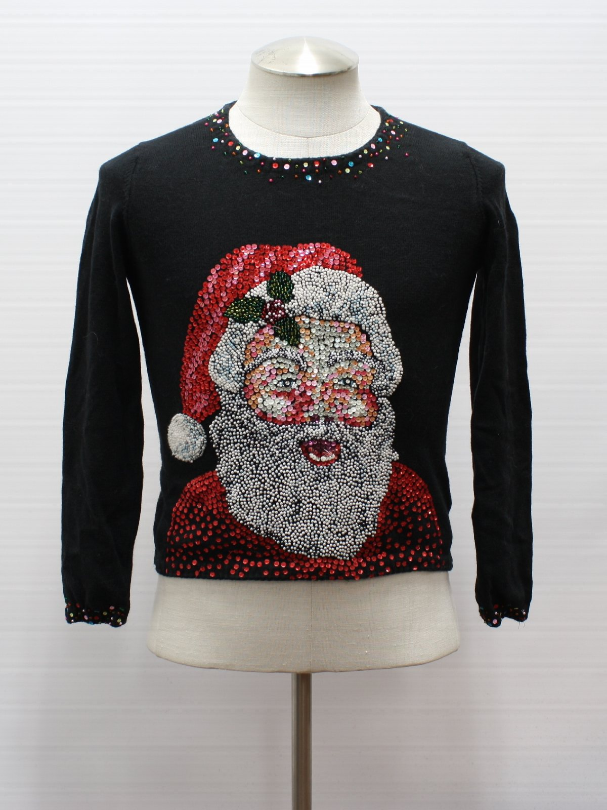 Womens Girls Designer Ugly Christmas Sweater Michael