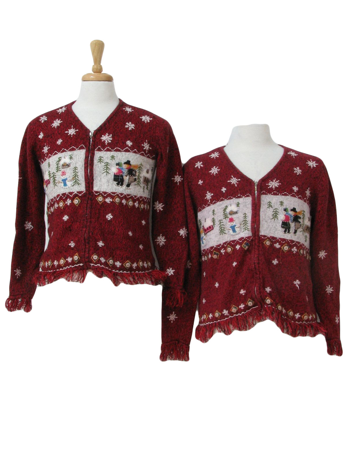 Womens Matching Mother and Daughter Ugly Christmas Sweaters ... 53b30b1ed