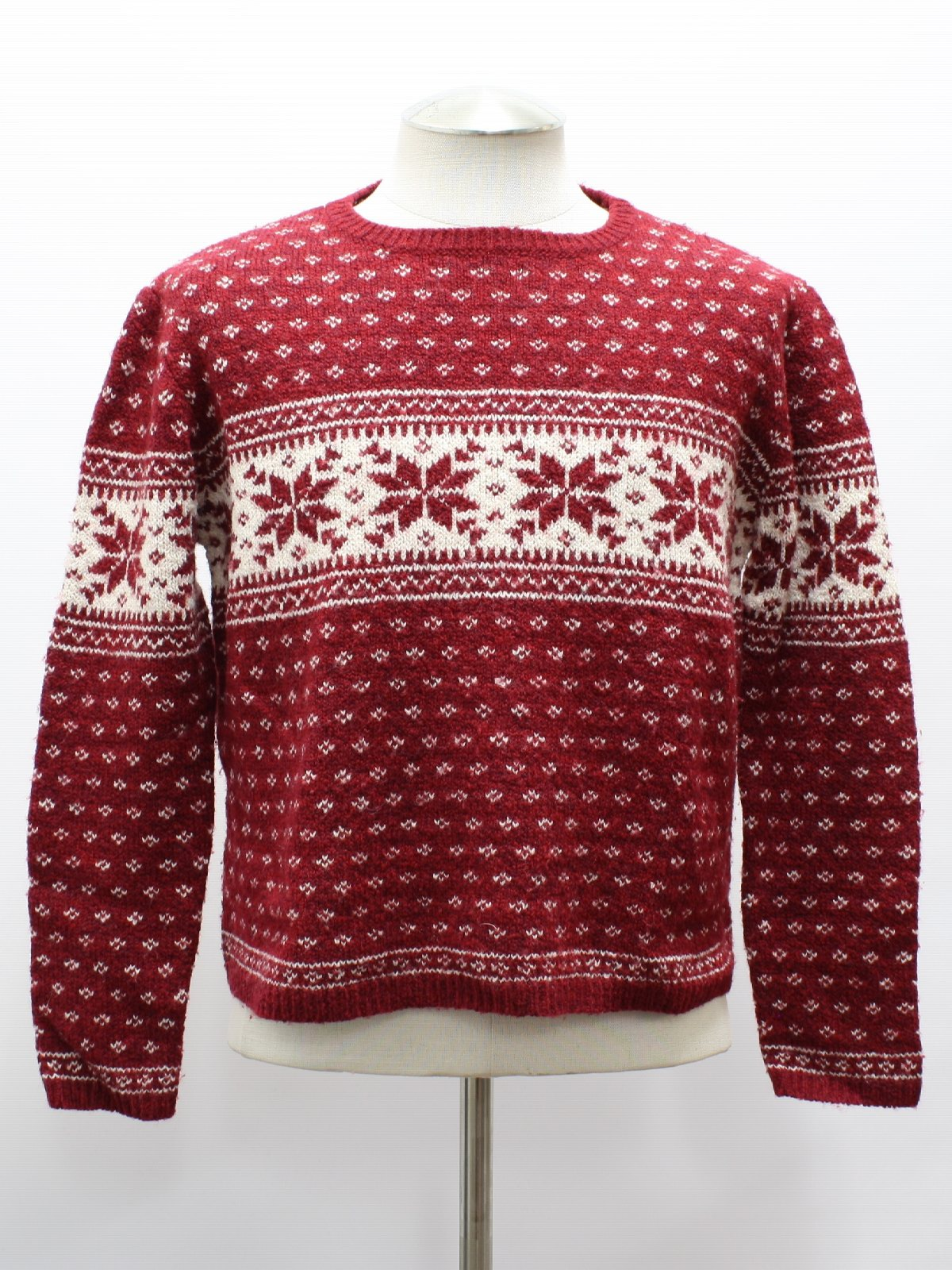 Womens Traditional Snowflake Ugly Christmas Ski Sweater: -Old Navy ...