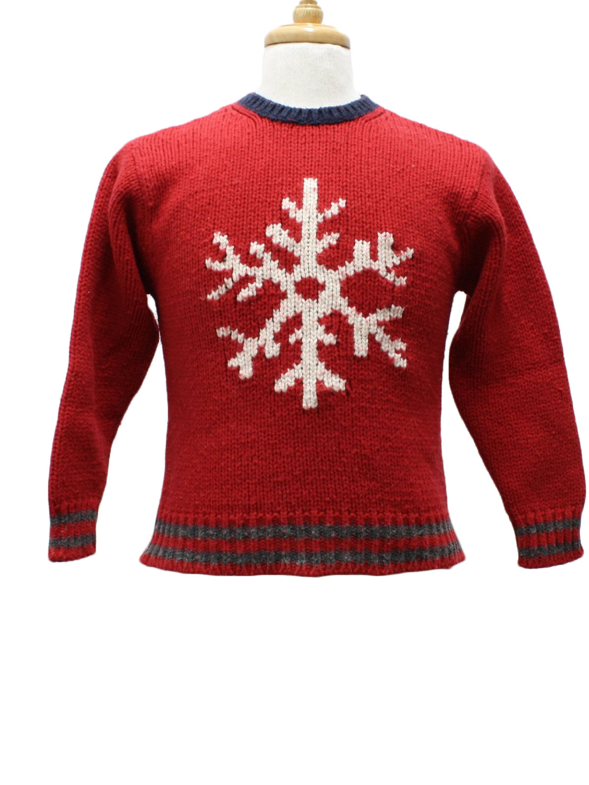 Childs Ugly Christmas Sweater: -Gap Kids- Unisex/Childs Red ...