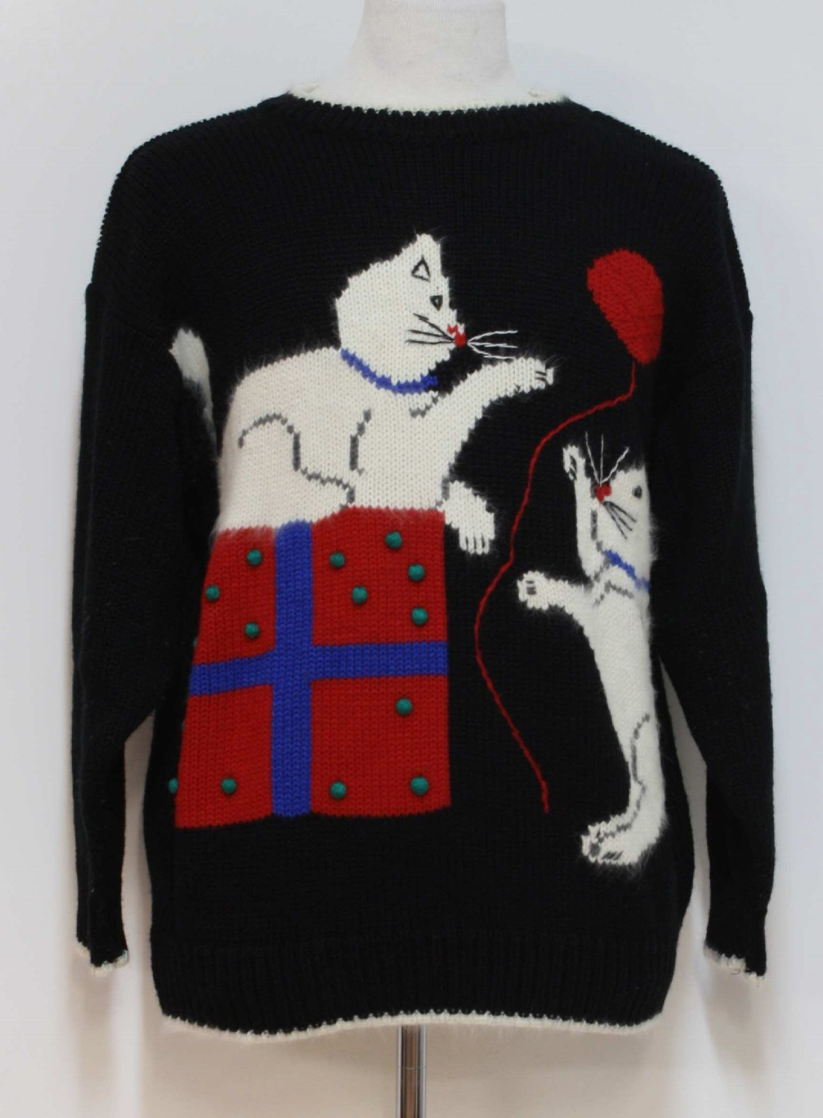Karen Scott Unisex Cat-Tastic Ugly Christmas Sweater $46.00 Not in stock. Item No. 208542