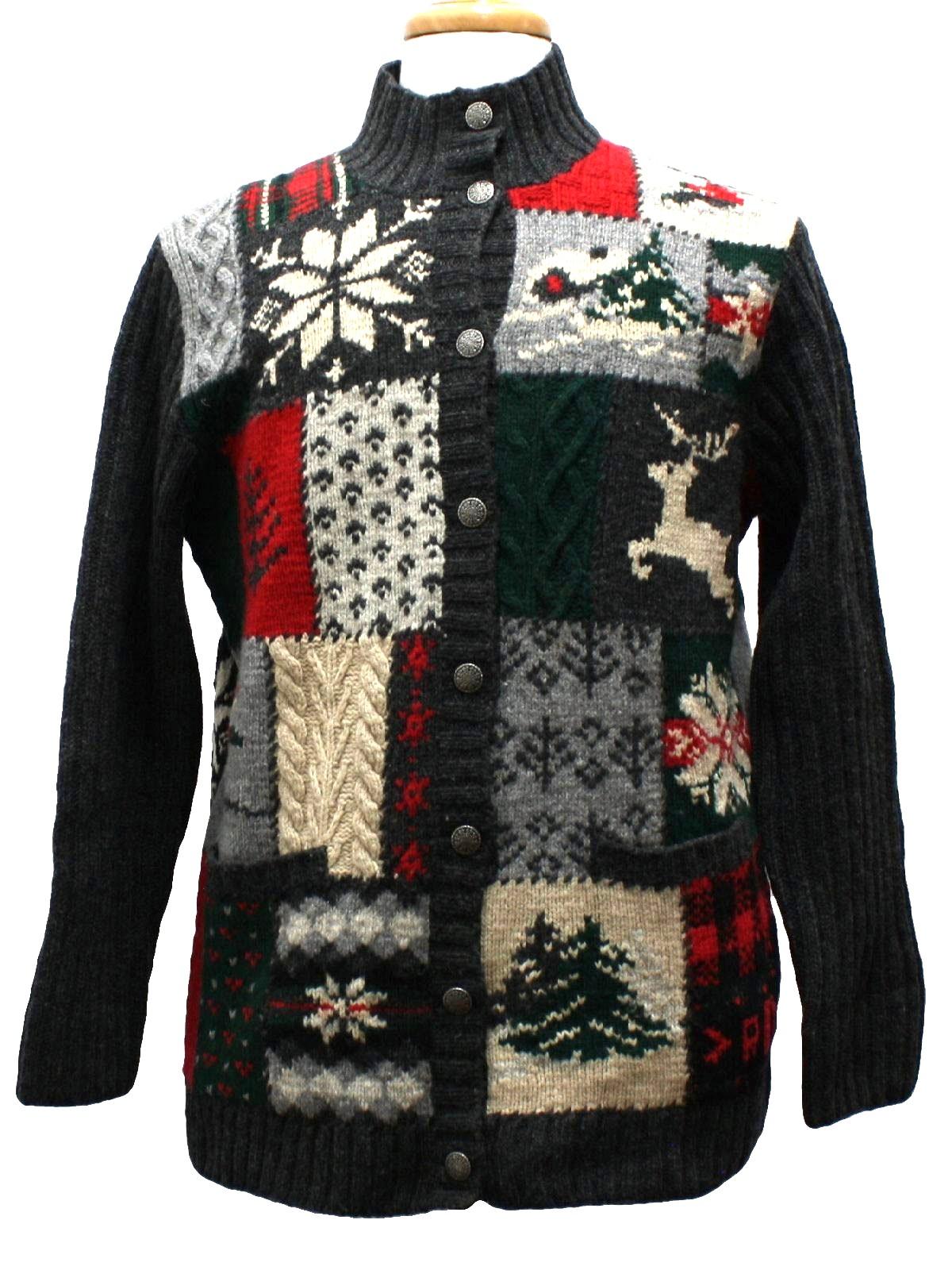 Designer Ugly Christmas Sweater: -Lauren Ralph Lauren ...