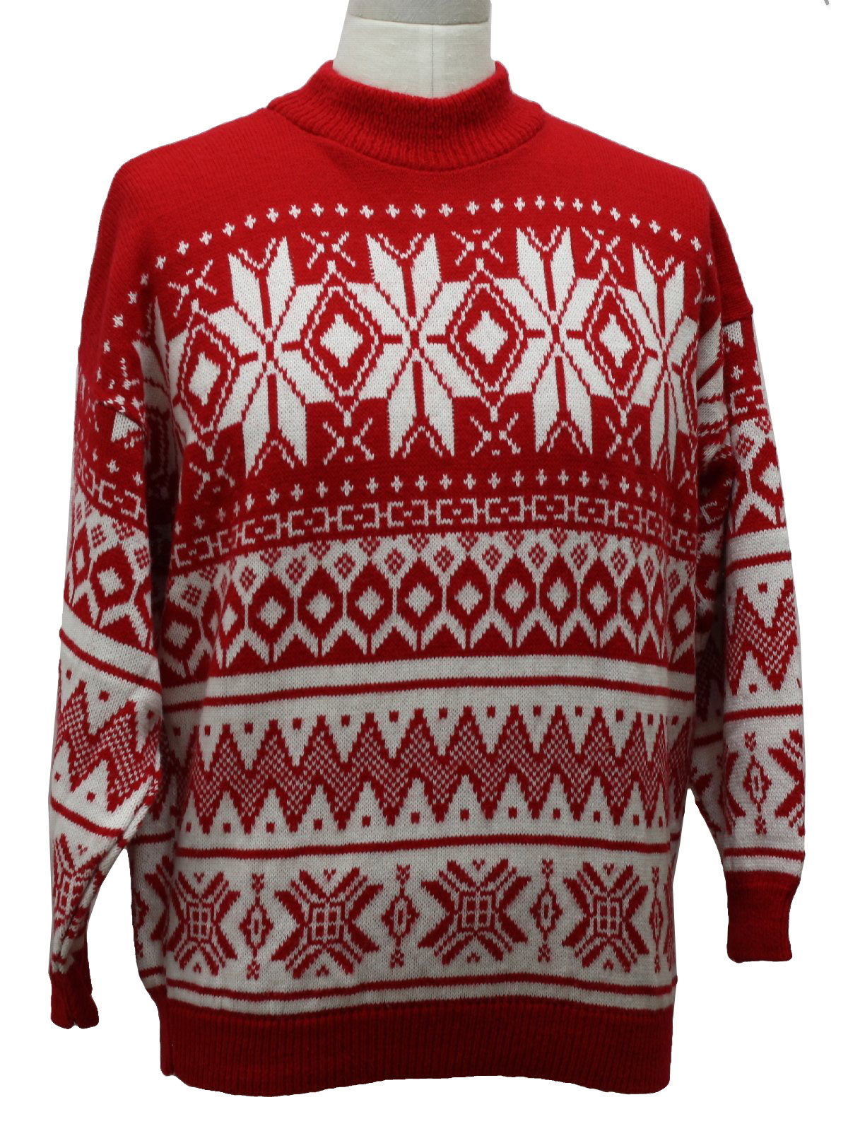 08ad2ca8dffe 1980s Totally 80s Ski Style Ugly Christmas Sweater: 80s authentic ...