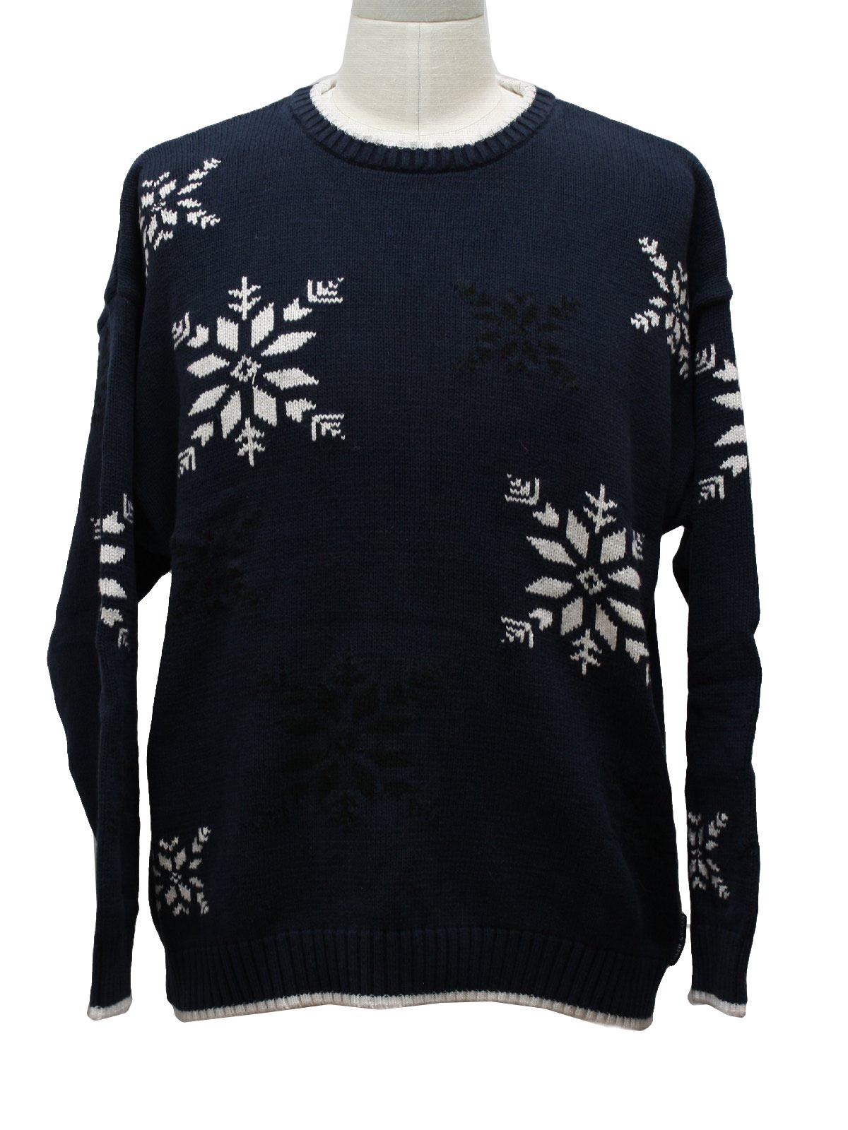 Mens Ugly Christmas Ski Sweater: -Chaps Ralph Lauren- Mens ...