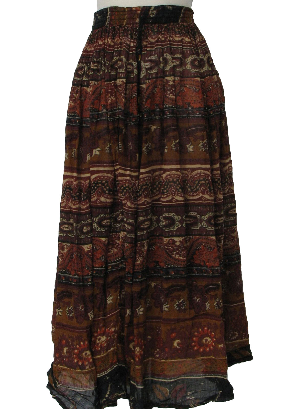 Broomstick Crinkle Skirt