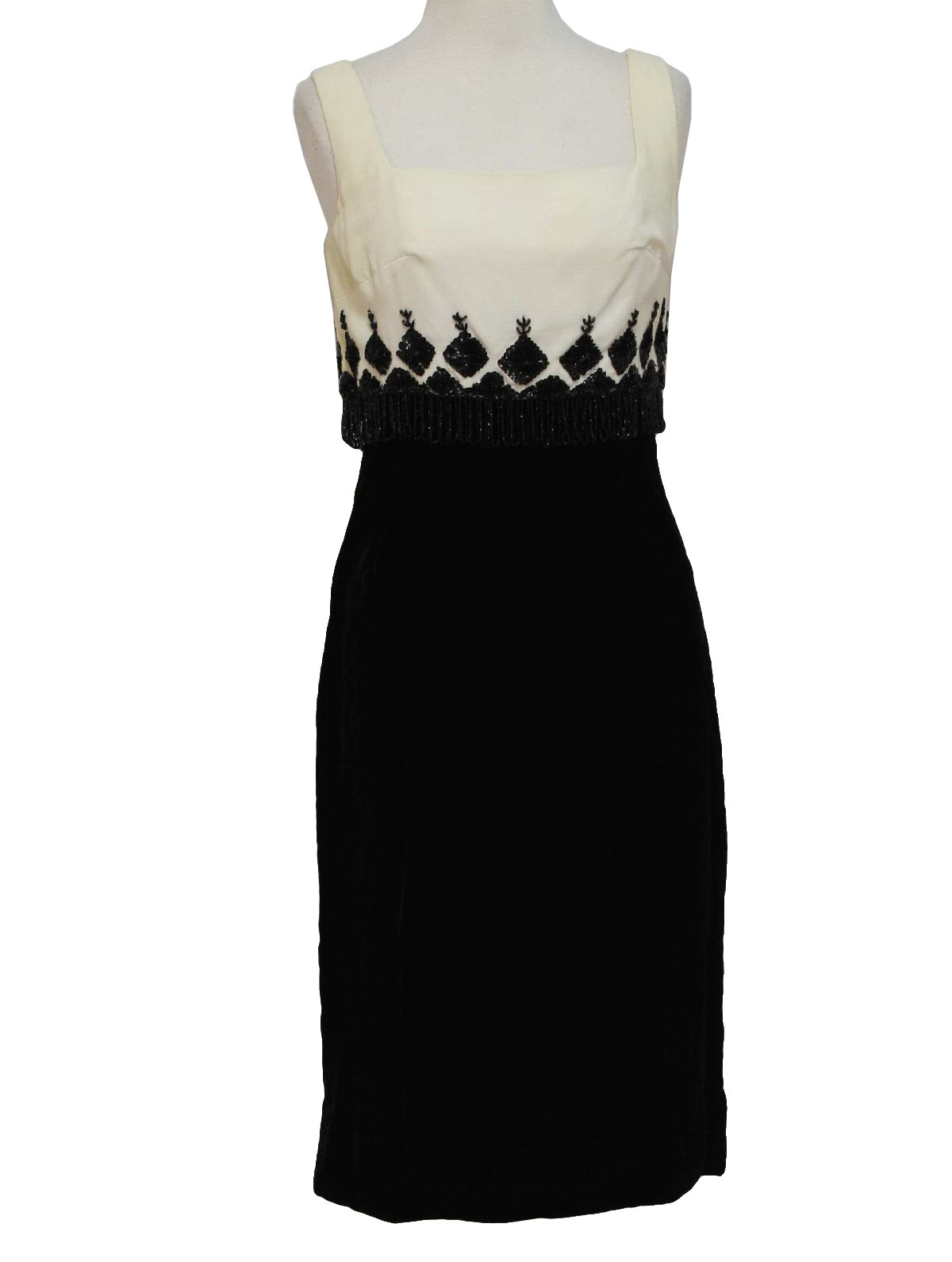 MardiGras New York Fifties Vintage Cocktail Dress: 50s -MardiGras ...