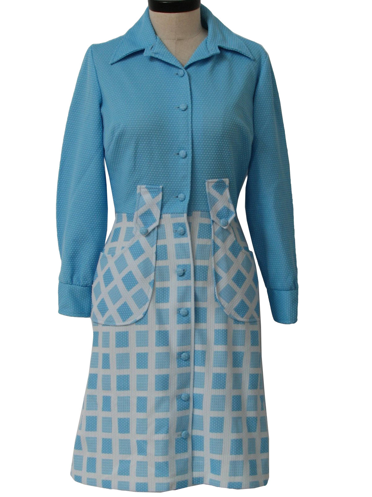 70 s jc penney dress 70s jc penney womens turquoise and