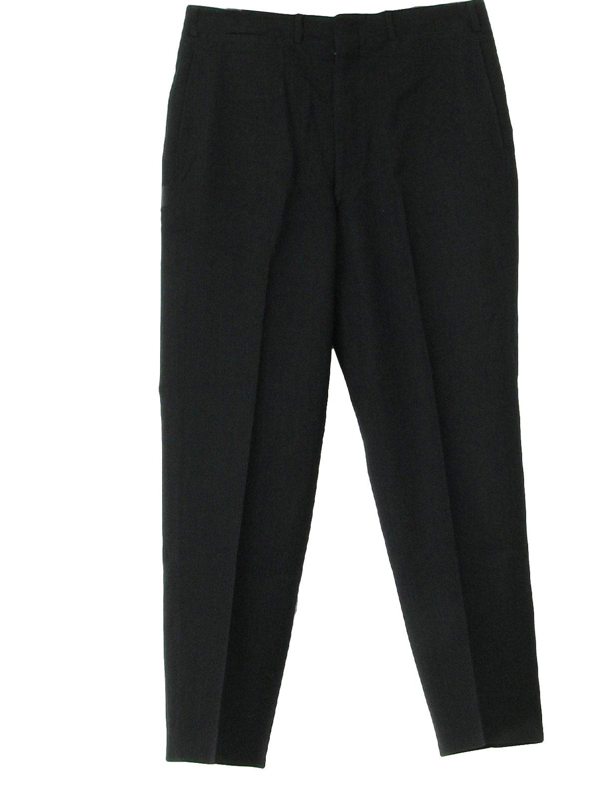 black trouser pants - Pi Pants