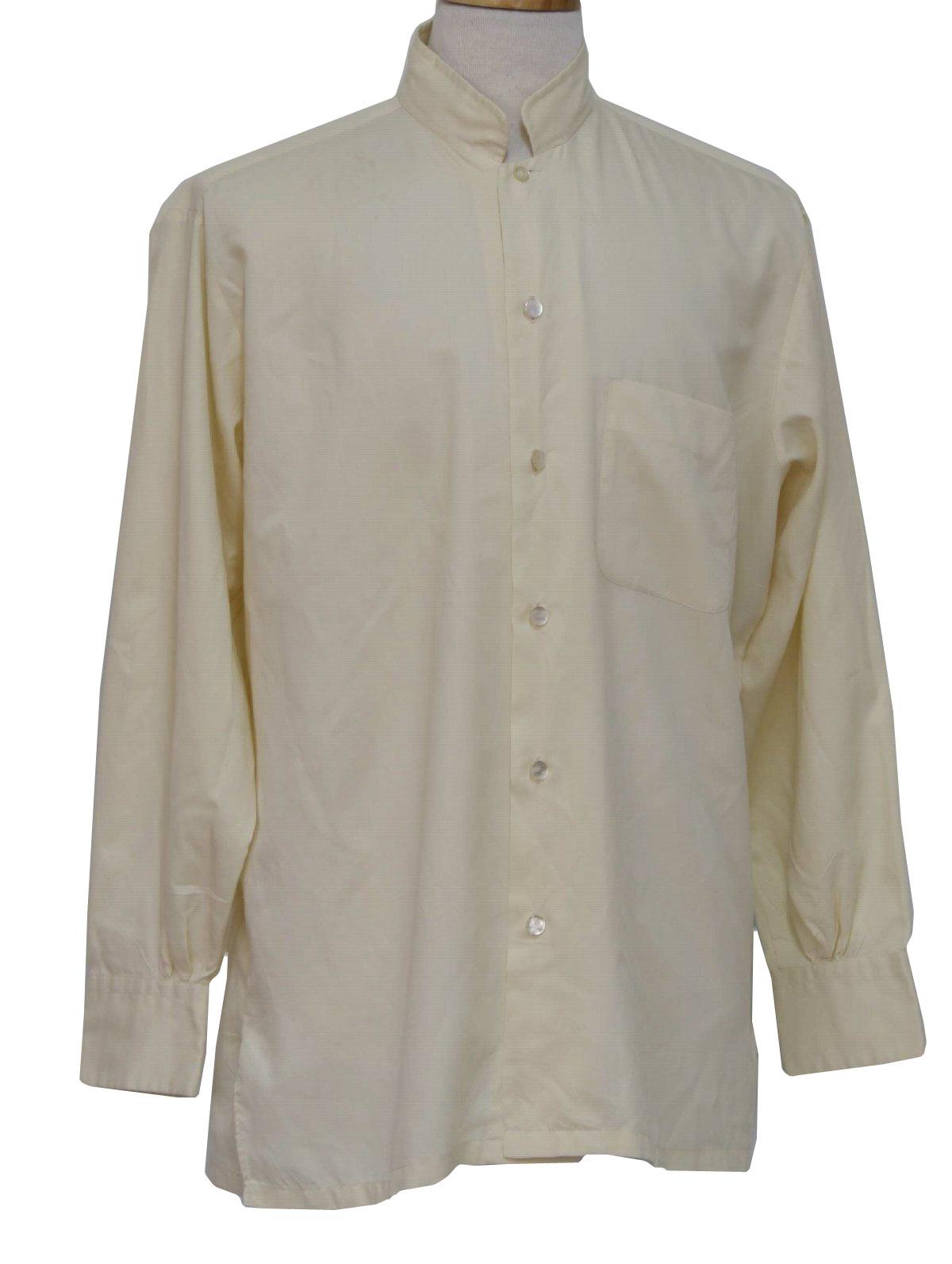 Kentfield Nehru 60s Vintage Shirt 60s Kentfield Nehru Mens