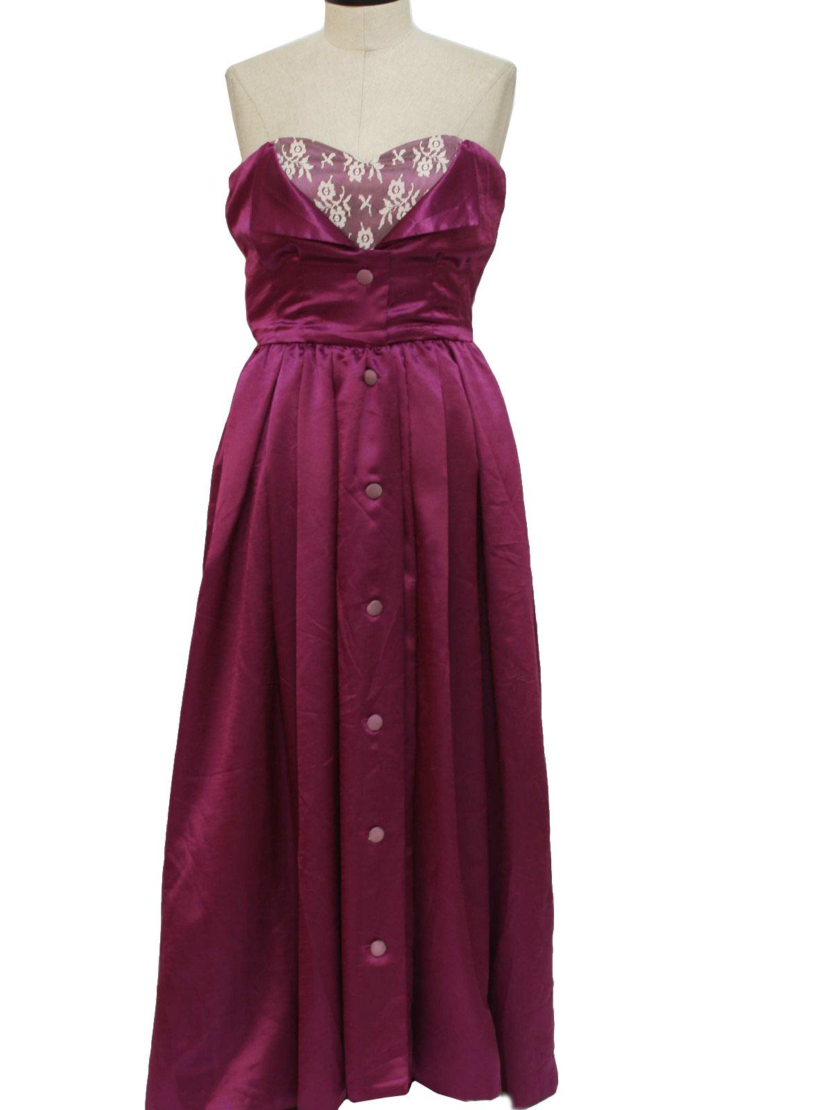 90's Vintage Cocktail Dress: 90s -Missing Label- Womens ...