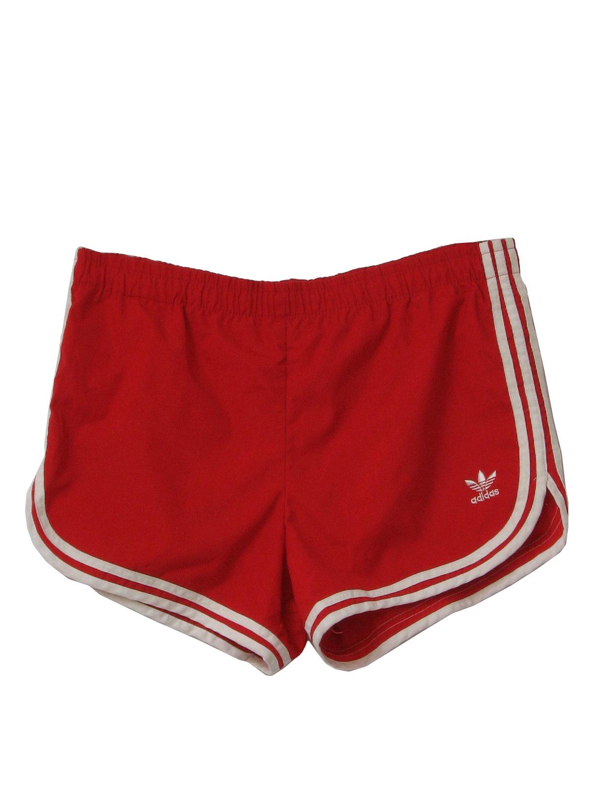 Totally Mens Adidas Shorts 1980's 80s byvmgI6fY7
