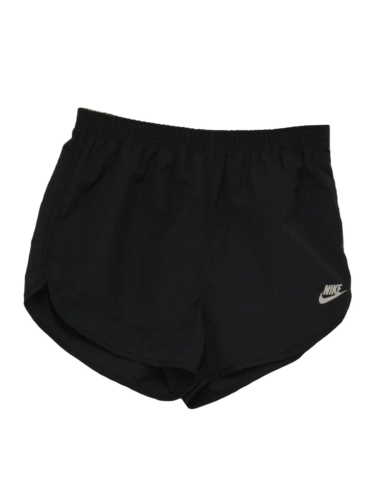 Vintage 1980's Shorts: 80s -Nike Made in USA- Mens black