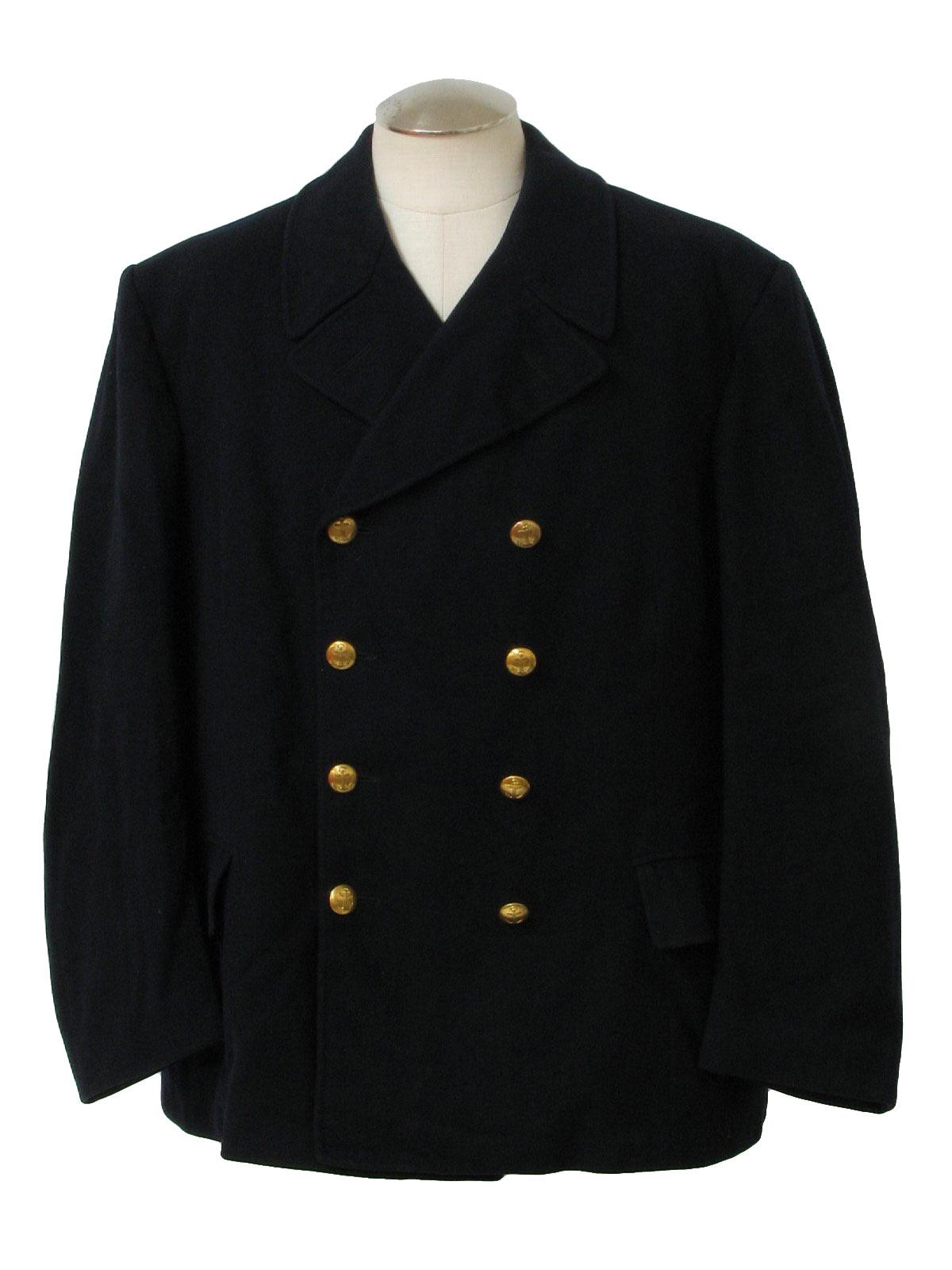 Retro 1950's Jacket (Rappson) : 50s -Rappson- Mens dark midnight ...