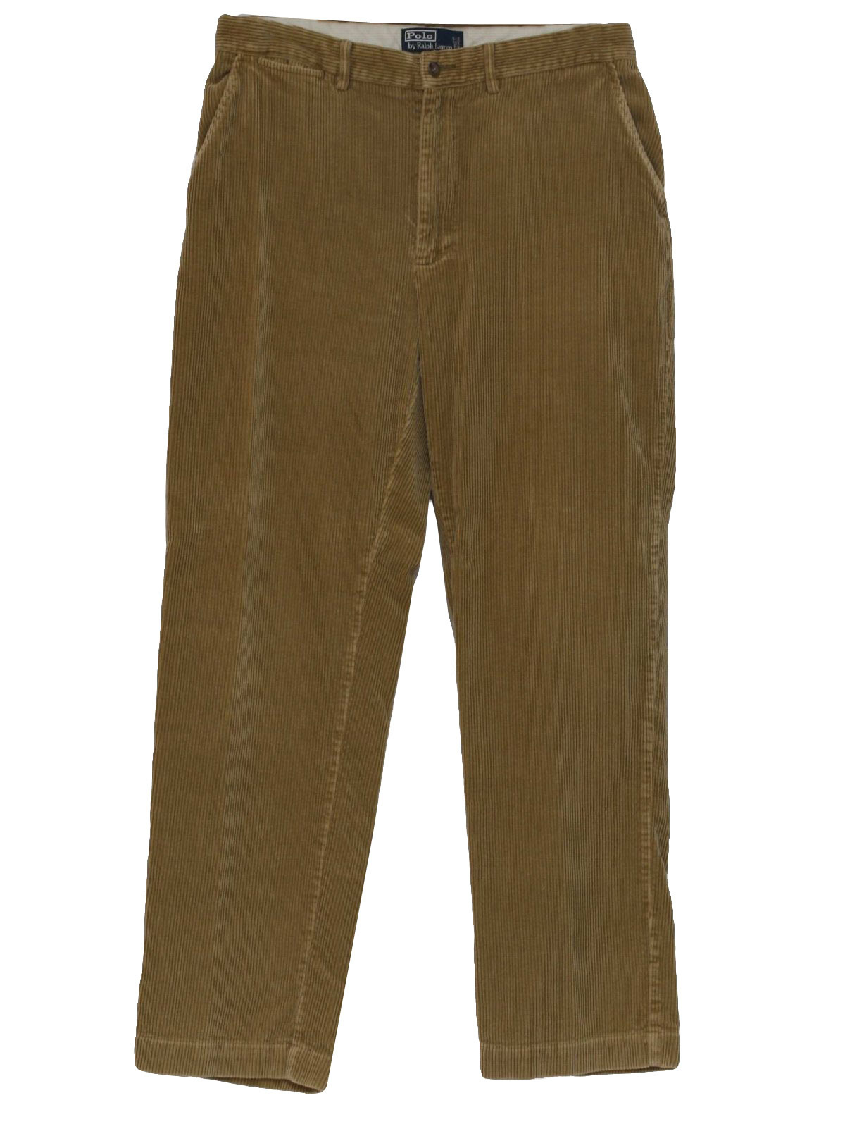 80s Retro Pants: 80s -Polo Ralph Lauren- Mens tan khaki tan cotton ...