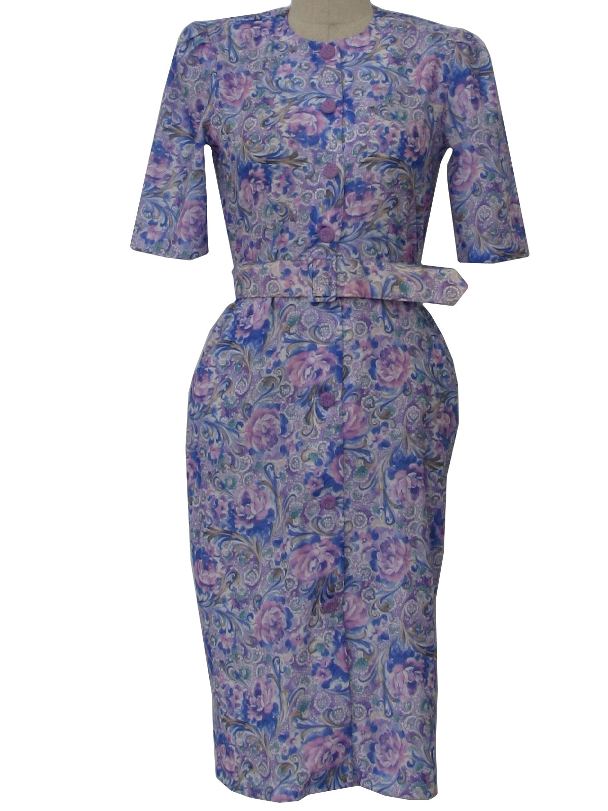 1960's Retro Dress: 60s -Touch Class- Womens retro style