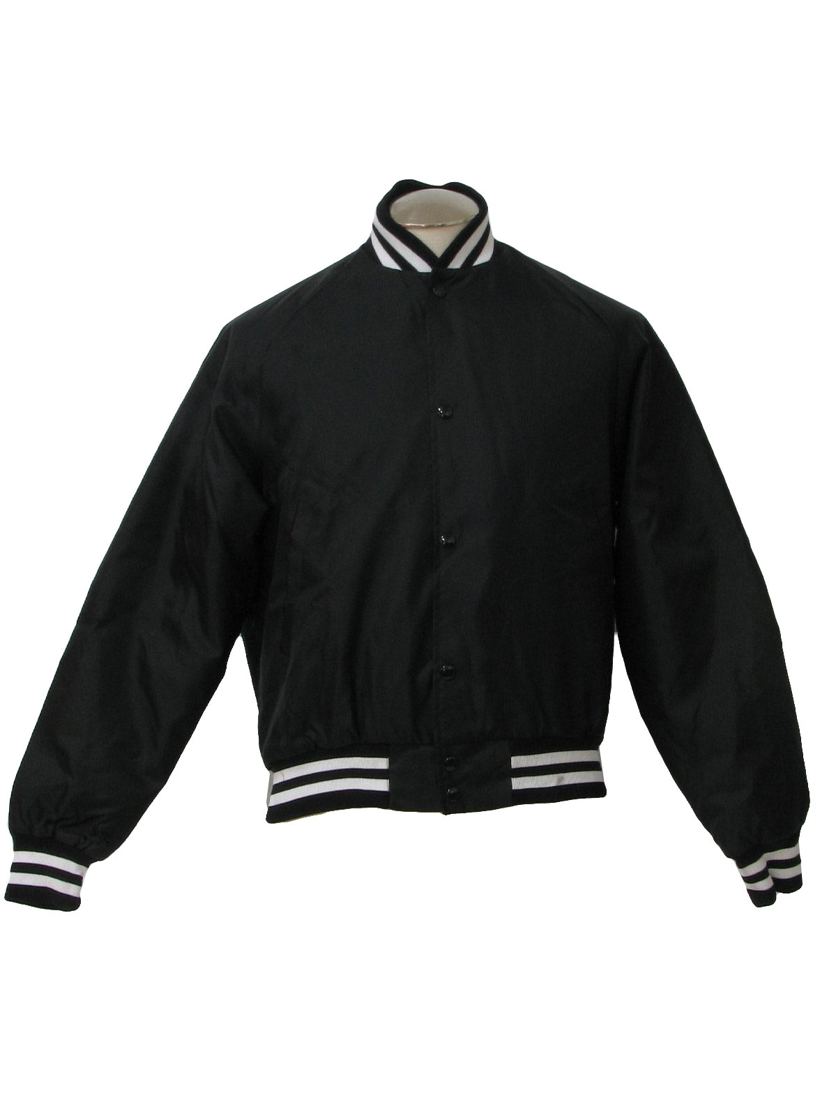 Westark 80&39s Vintage Jacket: 80s -Westark- Mens black and white