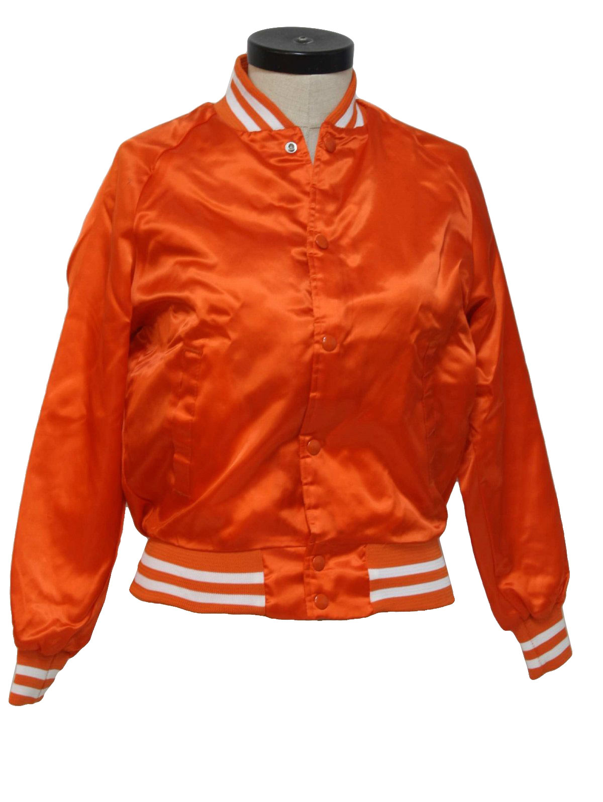 Orange Baseball Jacket j0uA0L