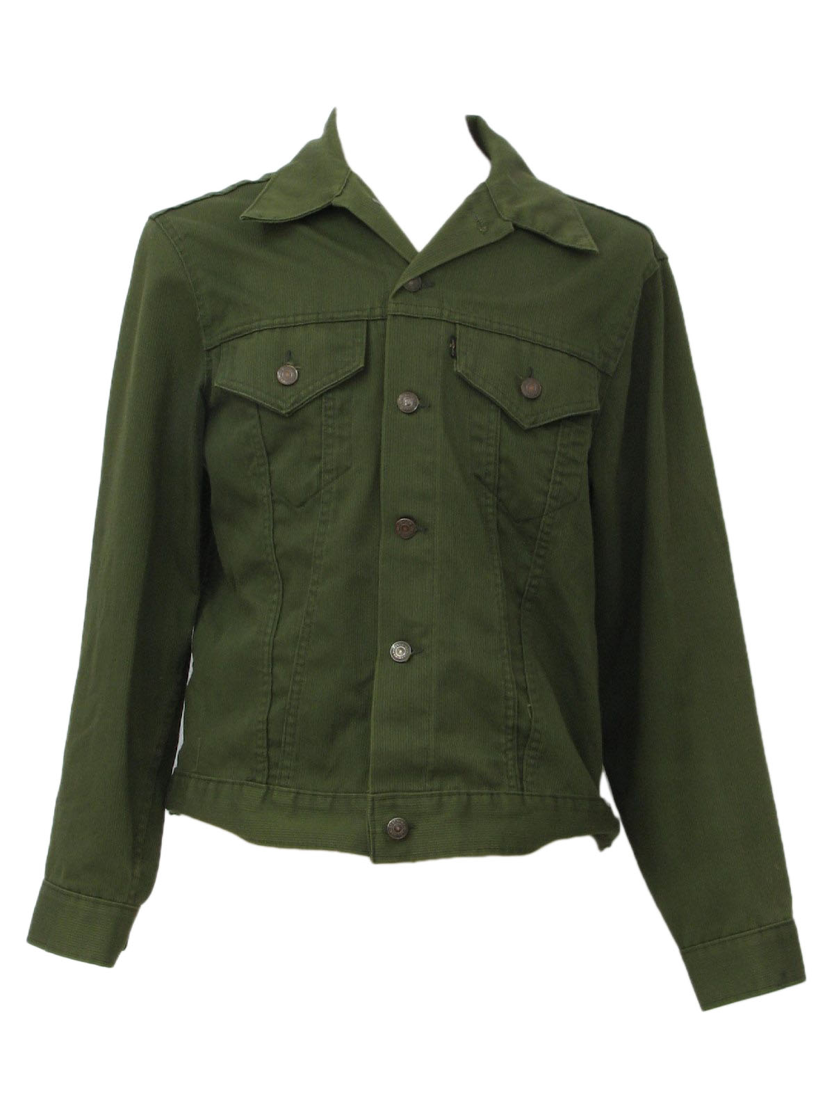 1970s Levis Mens Denim Style Corduroy Jacket