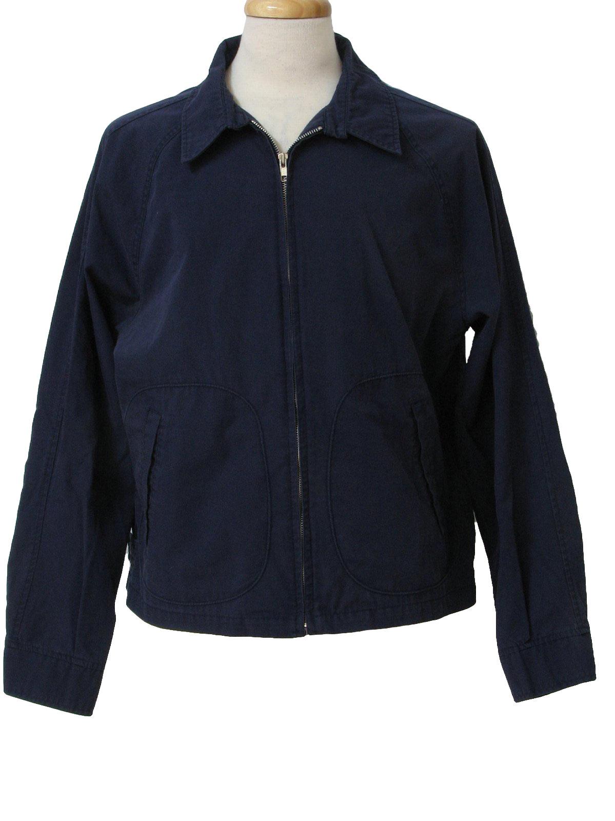 1960s McGregor Drizzler Jacket: 60s -McGregor Drizzler- Mens navy ...